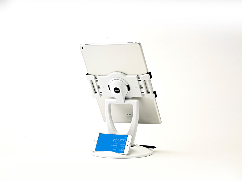 【新古品】【iPadスタンド】All-in Tablet Station【iPad Pro装着可能】